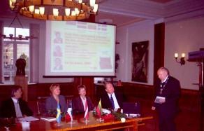 27-oji Baltijos mokslo istorikų konferencija Rygoje 2003 m.