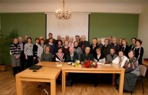 Konferencijos Scientia et historia - 2016 dalyviai
